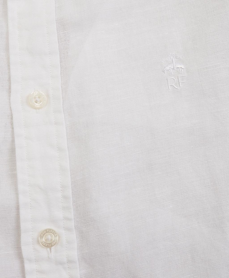 Garment-Dyed Linen-Cotton Shirt 썸네일 이미지 5