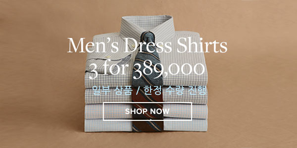 3PCS DRESS SHIRTS