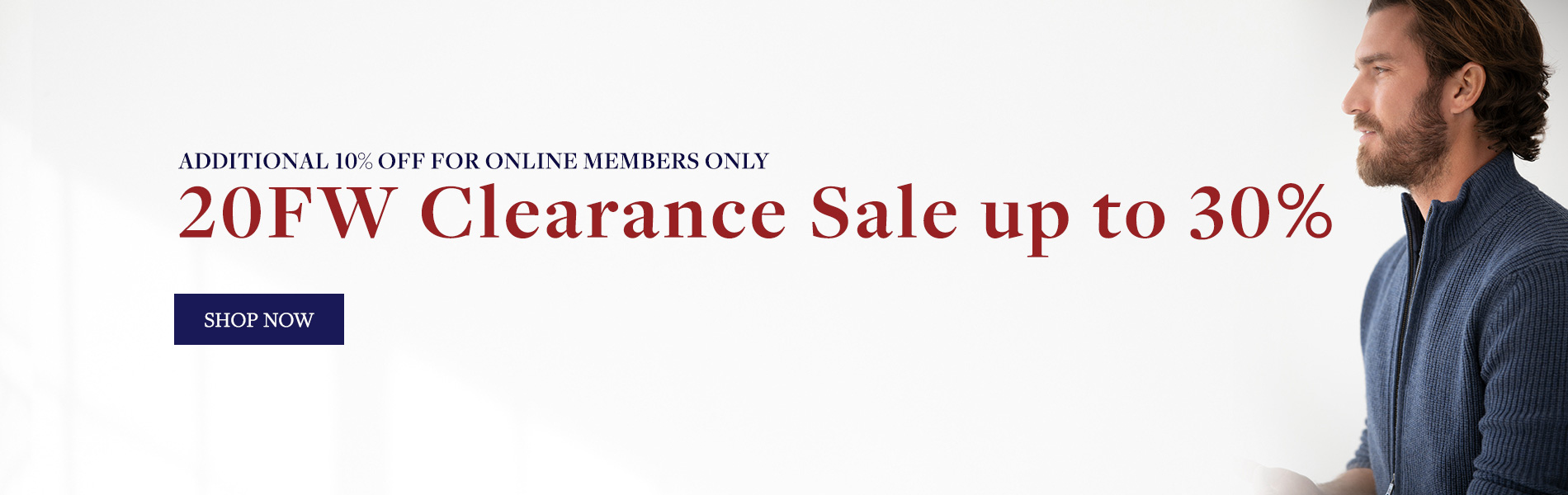 20 FW Clearance Sale