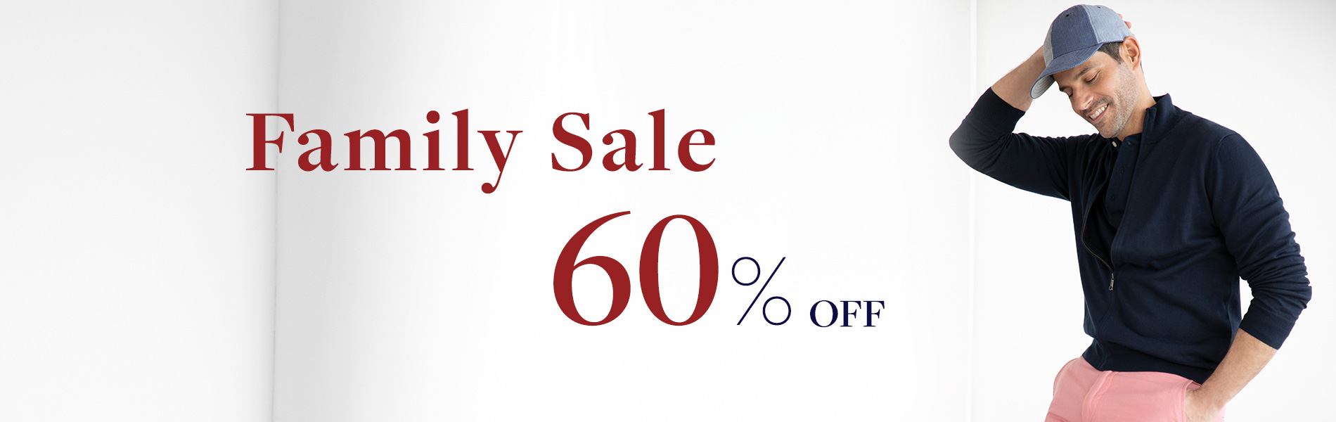 Family Sale 60% OFF
