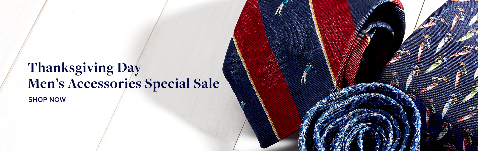 Thanks giving Day Men's Accessories Special Sale